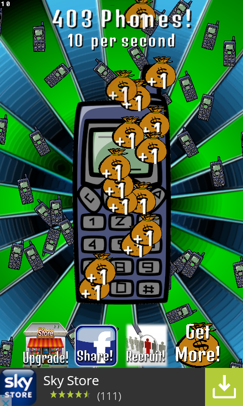 phonetap screenshot